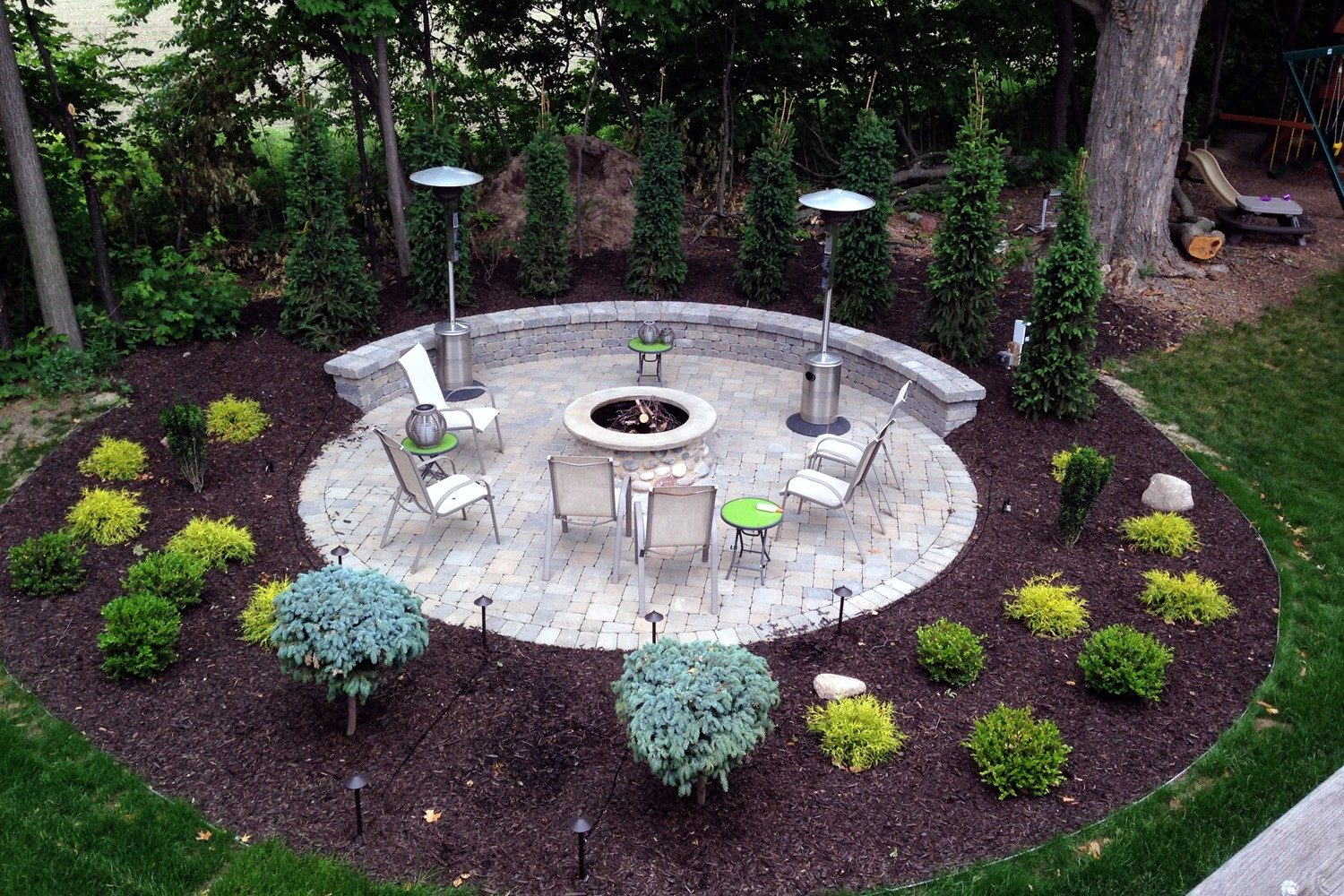 Backyard patio company in West Michigan - ProMowLandscape.com