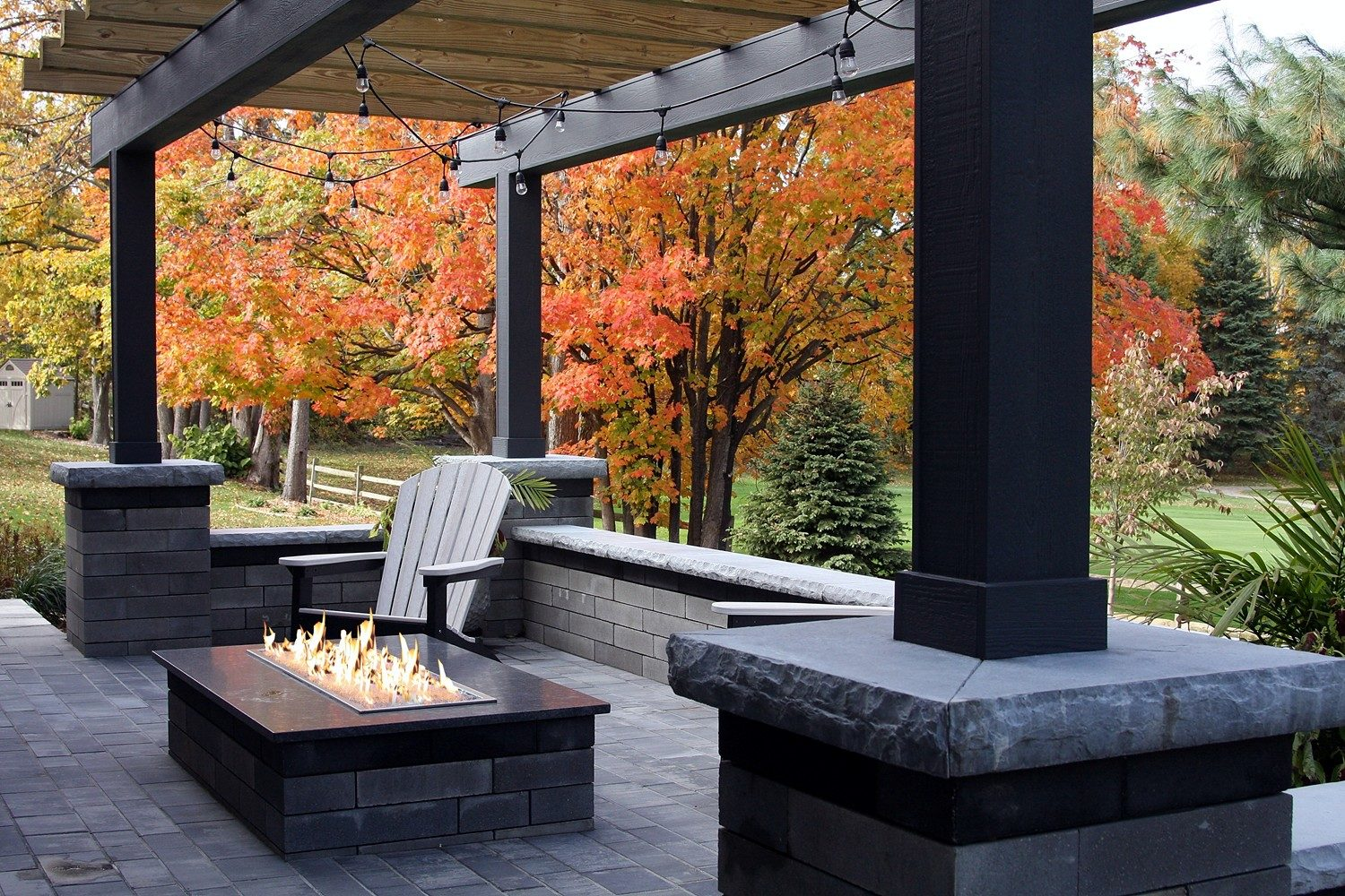 Firepit Patio and Landscaping Services Grand Rapids MI