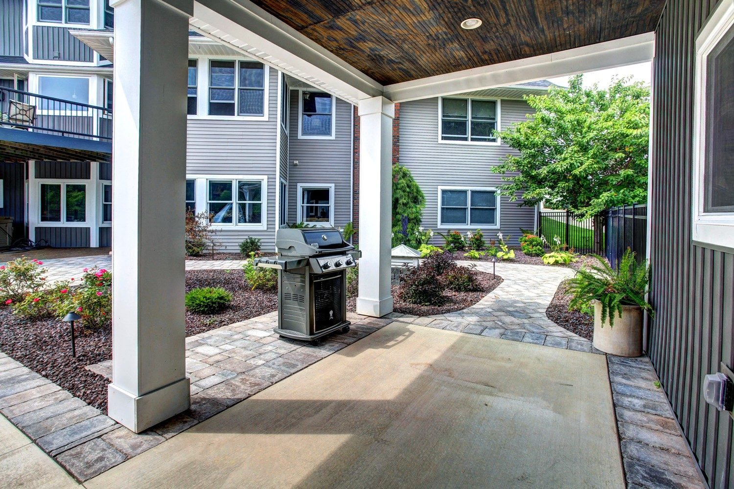 Patio Walkway Landscaping Services Grand Rapids MI