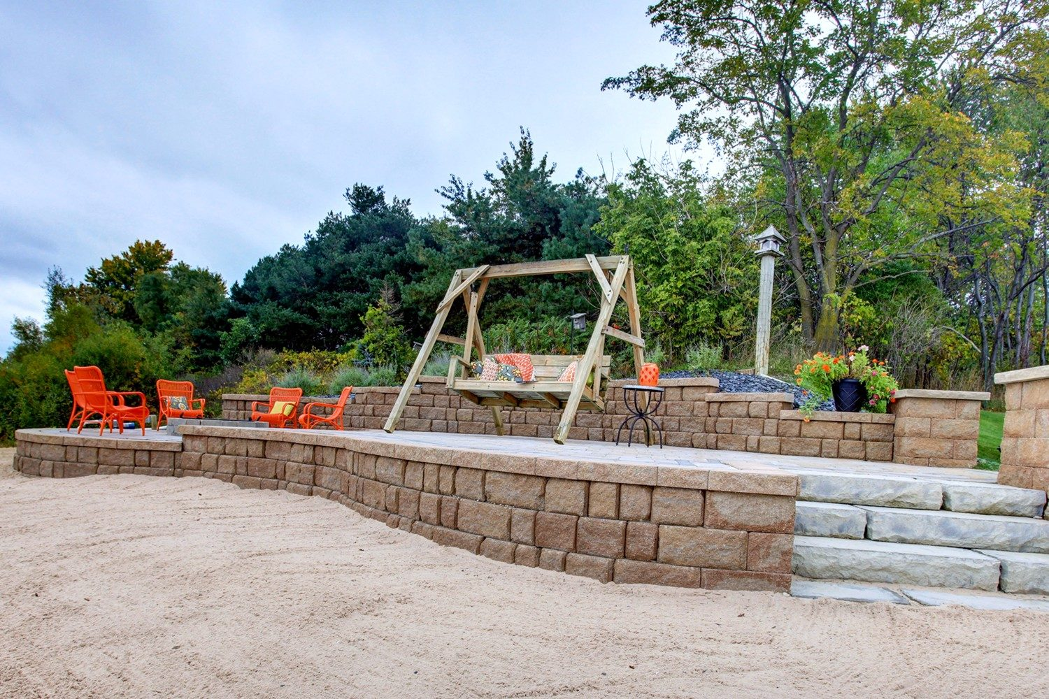 Patio and Retaining Wall Company West Michigan