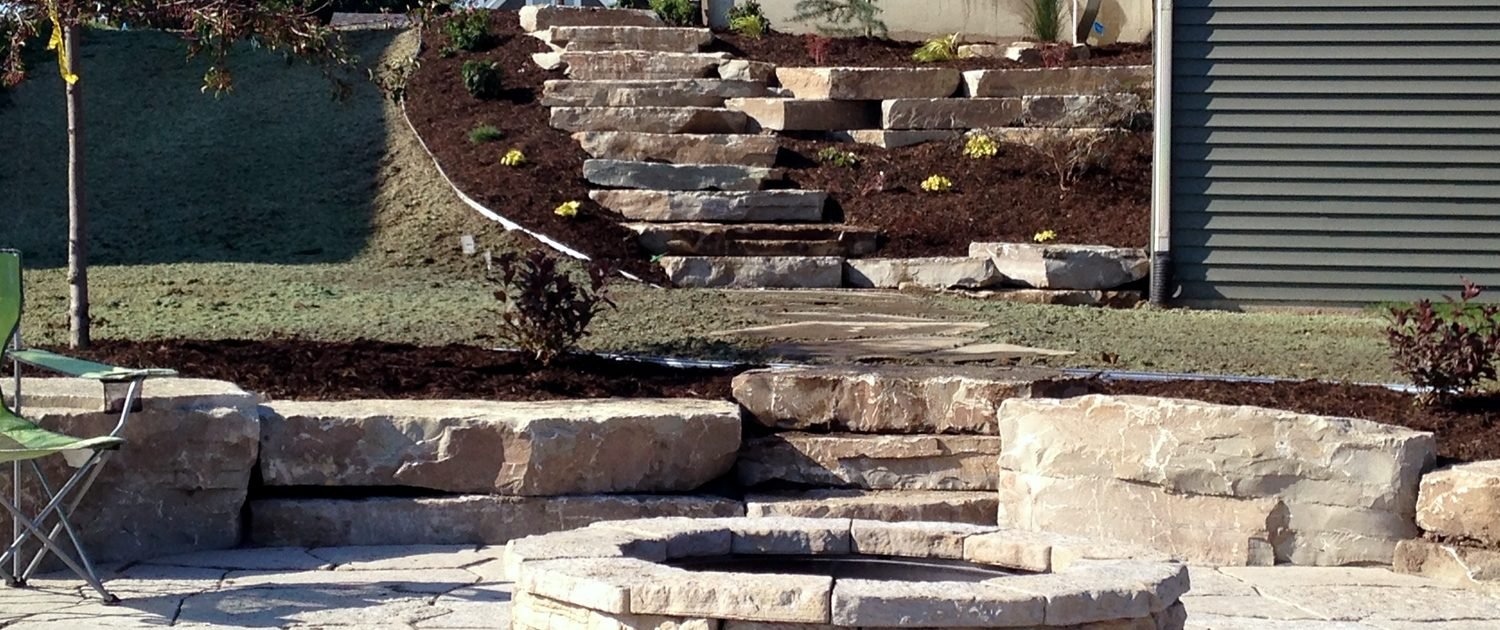 Retaining Wall Construction and Landscaping Company in Grand Rapids MI