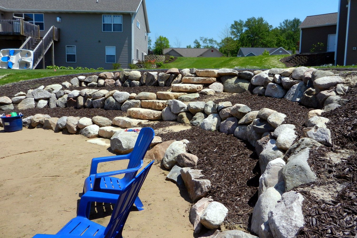 Stone Retaining Wall Builders West Michigan