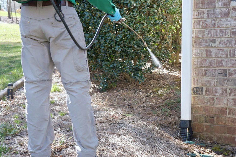 Perimeter Pest Control Spraying in Byron Center MI - ProMowLandscape.com