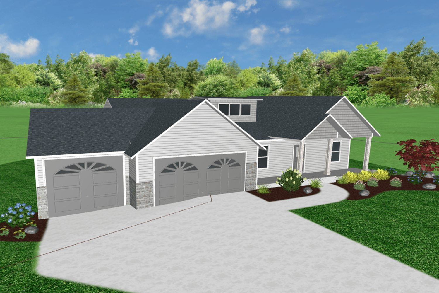 Landscaping, Hydroseed Package for New Homes - ProMow Landscaping of Byron Center